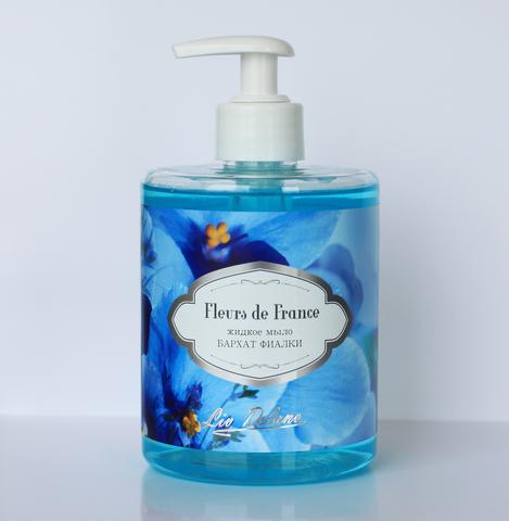 Liv delano Fleurs de France Жидкое мыло