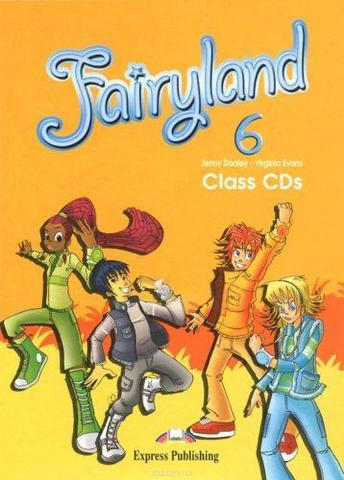 Fairyland 6 Class CD (set of 4)