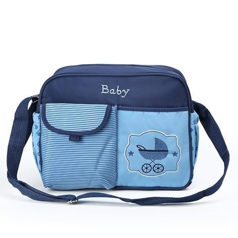 Компактная сумка для мамы Baby 33x13x26 см