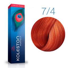 Wella Professional KOLESTON PERFECT 7/4 (Очень светлый медный блонд) - Краска для волос