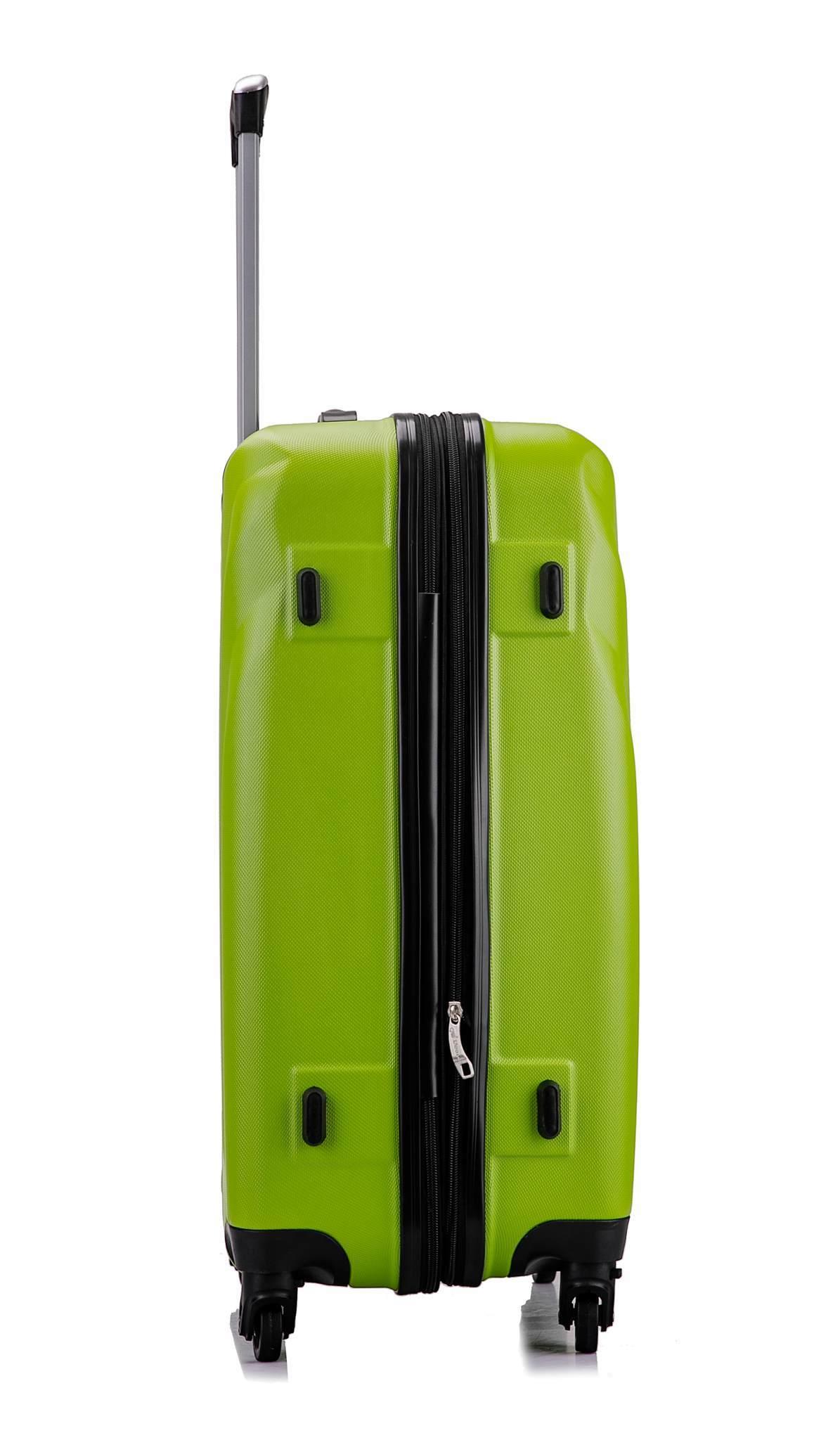 Чемодан с расширением L'case Bangkok-26 Зеленый (L)