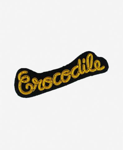 Брошь Crocodile