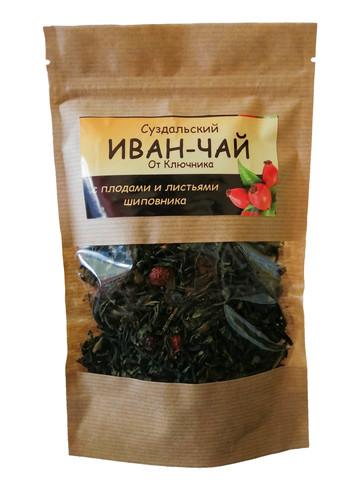 Иван-чай «с плодами и листьями шиповника»