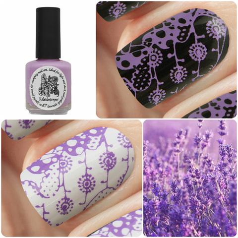 Kaleidoscope Лак для стемпинга №st-87 Lavender 15 мл