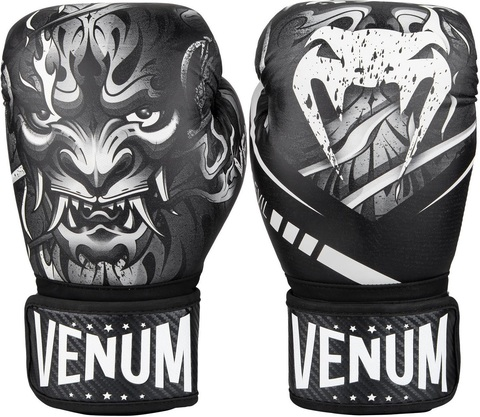 Перчатки для бокса Venum Devil Boxing Gloves - White/Black