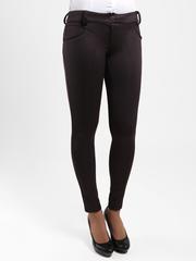 7079 брюки женские, темно-коричневые