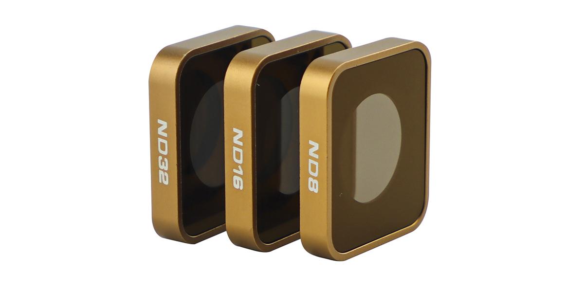 Набор фильтров PolarPro Cinema Series Filter 3-Pack вид сбоку