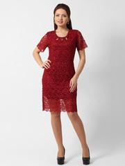 1280-2 платье красное