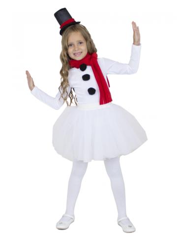 Костюм Снеговик для девочки 1