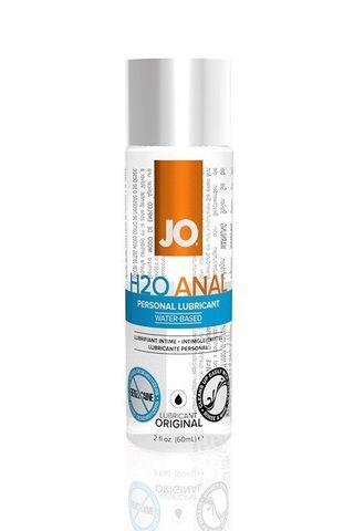 Анальный лубрикант на водной основе JO Anal H2O - 60 мл.