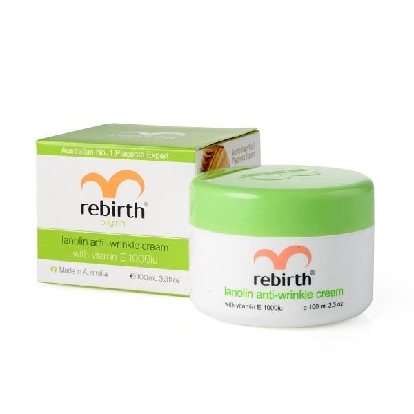 Крем против морщин с Витамином Е и Ланолином Rebirth Lanolin Anti-Wrinkle Cream 100мл