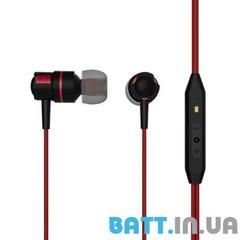 Гарнитура вакуумная BASSF SX-700U black-red