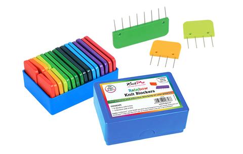 KnitPro Rainbow Blockers набор блокаторов