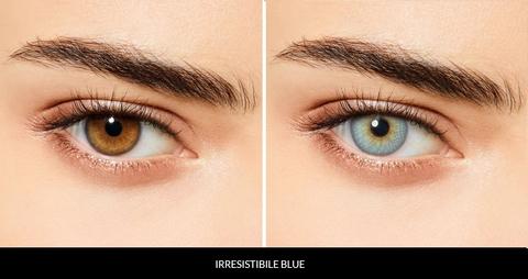 Голубые линзы Desio (3-тоновые) IRRESISTIBLE BLUE