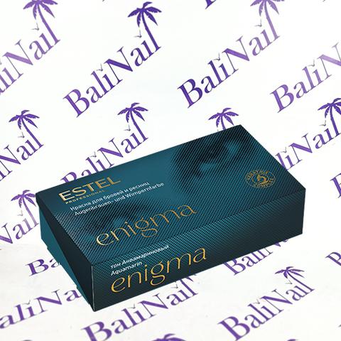EN8 Краска для бровей и ресниц ESTEL Professional ENIGMA Тон аквамариновый.