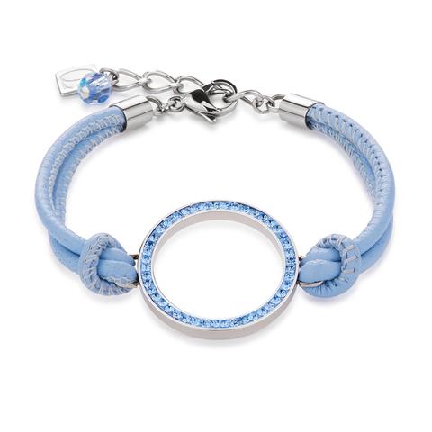 Браслет Coeur de Lion 4926/30-0720 цвет голубой