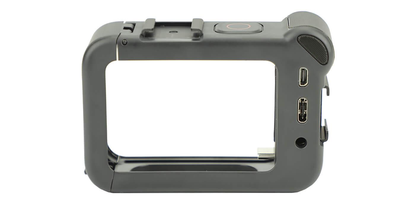 Медиамодуль с микрофоном и HDMI для GoPro HERO8 (AJFMD-001) разъемы