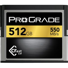 Карта памяти ProGrade 512GB CFast 2.0 550 - 450MB/s for Blackmagic