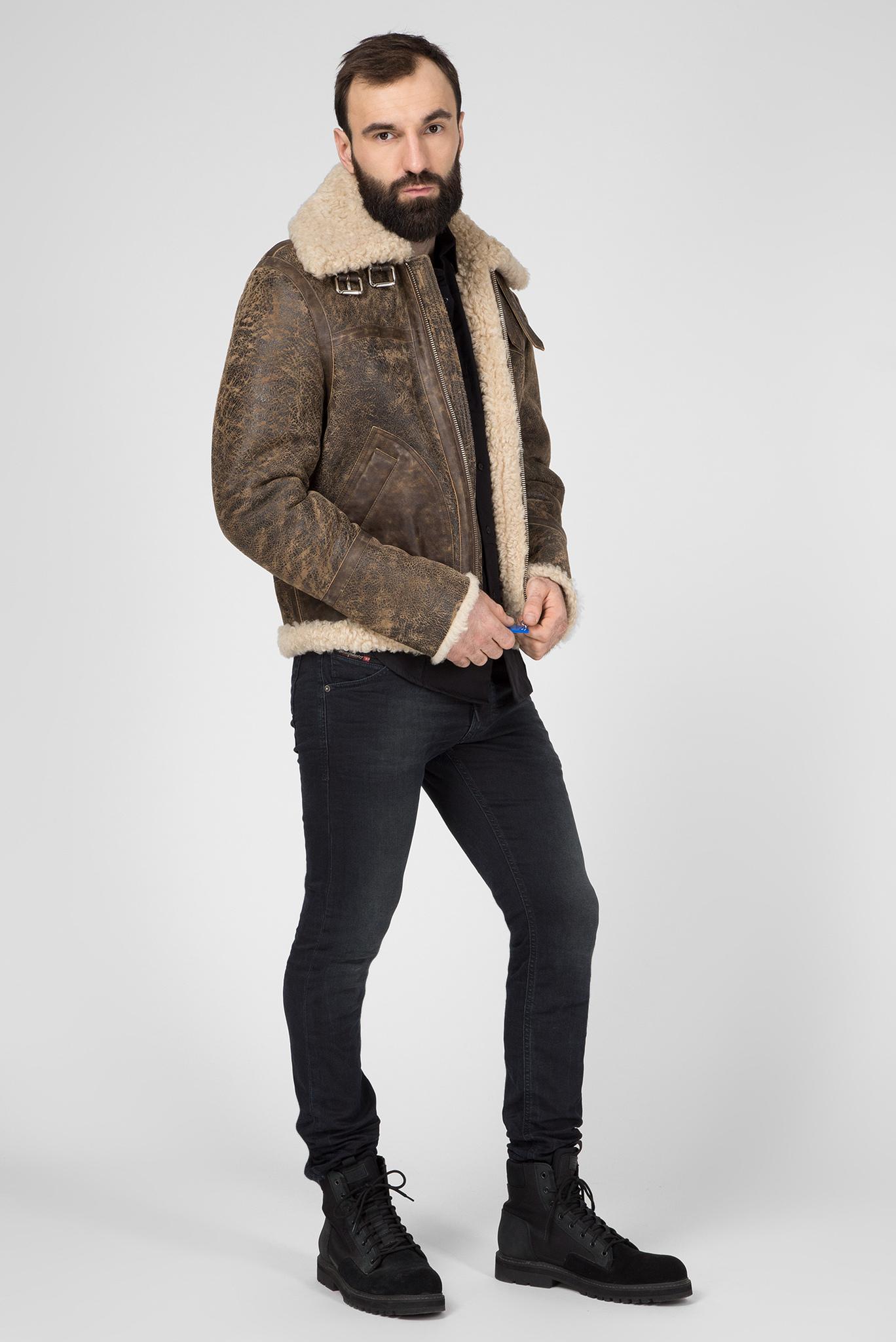 Мужские темно-серые джинсы KROOLEY-X-NE Diesel