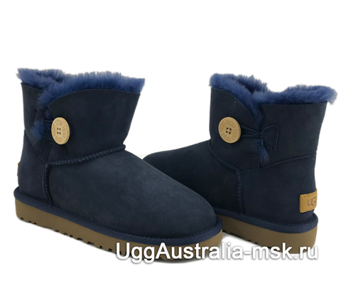 UGG Bailey Button II Mini Navy