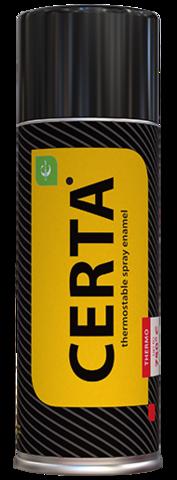 CERTA/ЦЕРТА Термостойкая аэрозольная краска 520 мл