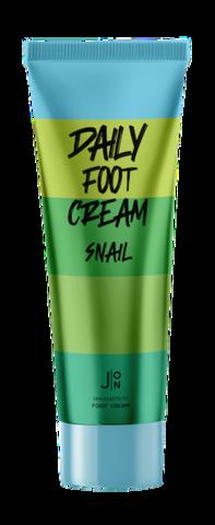 [J:ON] Крем для ног МУЦИН УЛИТКИ Snail Daily Foot Cream, 100 мл