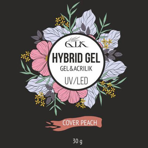 Gellaktik Hybrid Gel UV/LED №08 Cover Peach 30 г