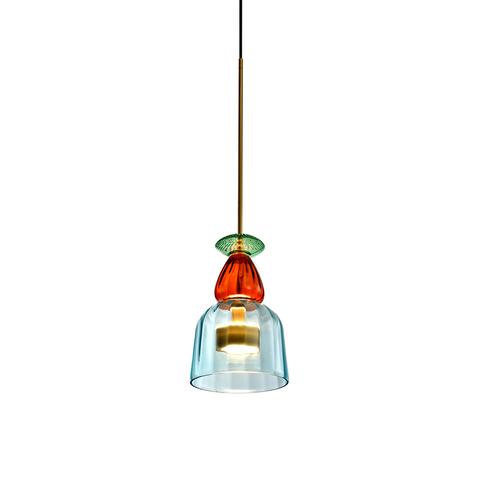 Подвесной светильник копия Flauti 5 by Giopato & Coombes