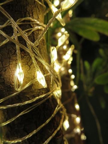 Гирлянда Кластер Luca Lighting белый свет (480 ламп, длина гирлянды 300 см)