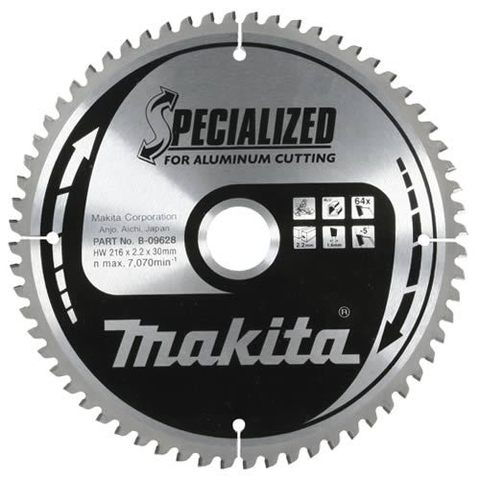 Диск по алюминию Makita 235х30х2,4 мм /80, 0°, TCG