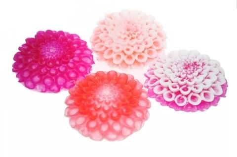 Мыльное ассорти/цветок 3D ГЕОРГИН, 90g TM ChocoLatte