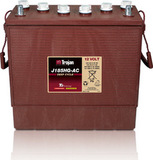 Тяговый аккумулятор Trojan J185HG-AC ( 12V 225Ah / 12В 225Ач ) - фотография