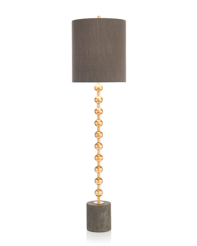 Gold Orb Buffet Lamp