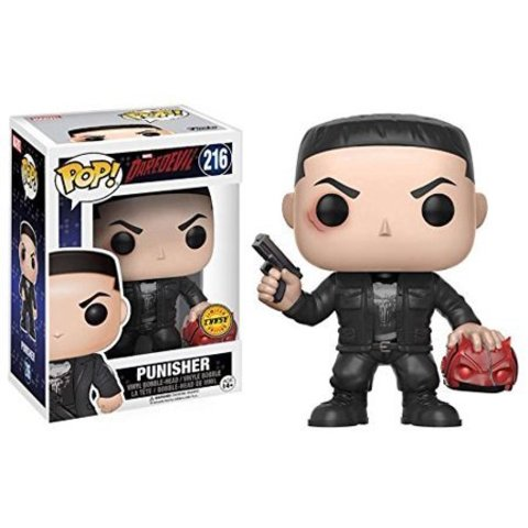 Фигурка Funko POP! Vinyl: Marvel: Daredevil TV: Punisher CHASE 11092
