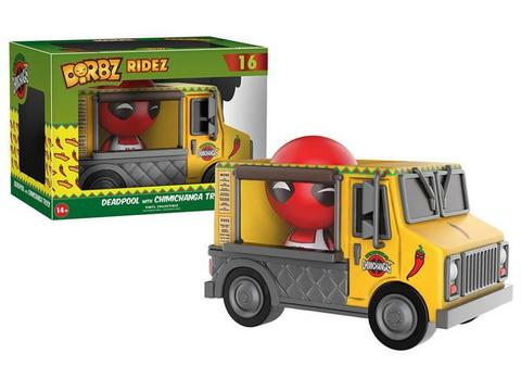 Funko Dorbz Ridez: Marvel: Deadpool & Chimichanga Truck || Дэдпул в фургончике