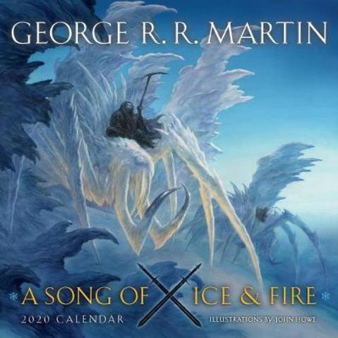 A Song Of Ice And Fire 2020 Calendar : Illustrations by John Howe