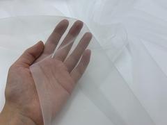 Сетка с эффектом голого тела, белая