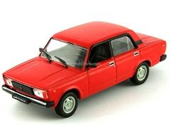 VAZ-2105 Lada red 1:43 DeAgostini Auto Legends USSR #62