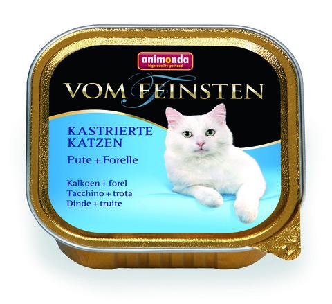 Консервы Animonda Vom Feinsten For Castrated Cats с индейкой и форелью для кастрированных кошек