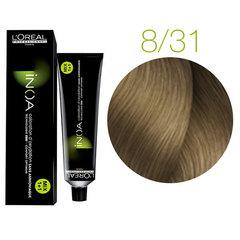 L'Oreal Professionnel INOA 8.31 (Светлый блондин золотистый пепельный) - Краска для волос