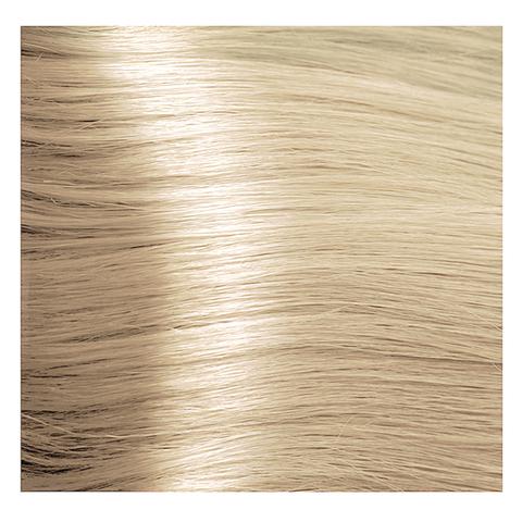 Крем краска для волос с гиалуроновой кислотой Kapous, 100 мл - HY 10.0 Платиновый блондин