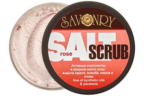 "Скраб для тела ""Роза"" | 300 гр | Savonry"