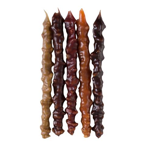 Чурчхела ассорти с грецким орехом (абрикос, вишня, гранат, светлый и тёмный виноград), 5 шт. в упаковке