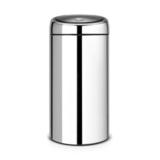 Мусорный бак TOUCH BIN двухсекционный (2 х 20 л) полированный, артикул 401060, производитель - Brabantia
