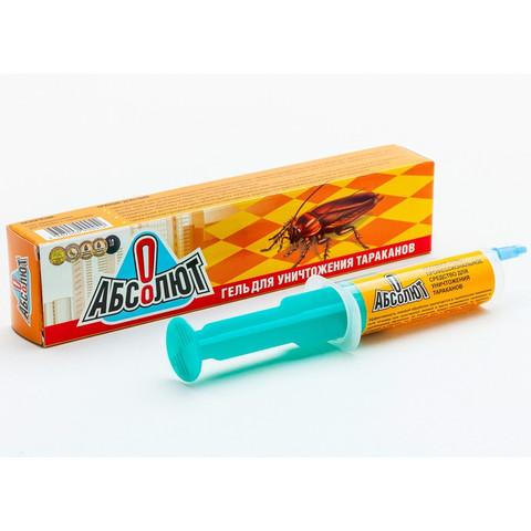 Средство от насекомых Абсолют От тараканов гель 20 мл