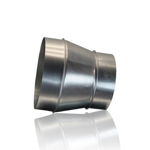 Переход 80х125 оцинкованная сталь
