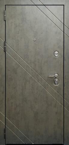Входная дверь ACOUSTIC X (Бетон Чикаго графит)