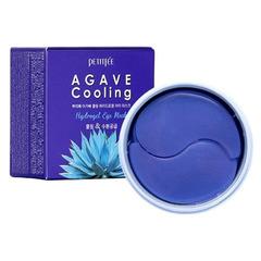 Petitfee Agave Cooling Hydrogel Eye Mask - Охлаждающие гидрогелевые патчи для кожи вокруг глаз с экстрактом агавы