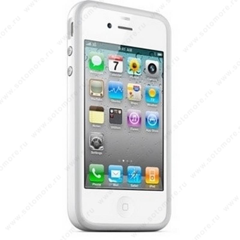 Бампер Apple для Apple iPhone 4 Bumper - White