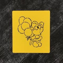 Мишка девочка №3